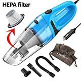 Kyпить Car Vacuum Cleaner LIBERRWAY DC 12v Portable Handheld Car Vacuum Wet Dry Vacuum 5.0Kpa Suction Auto Vacuum Cleaner Tools with Cigarette Lighter Plug 14ft Power Cord with Carrying Bag [Update] на Amazon.com