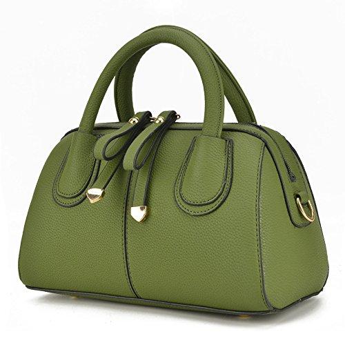 Meoaeo Señoras Bolso Bolso De Moda Único Bolso De Hombro Verde green