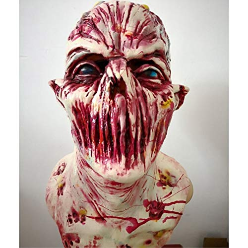 Party Masks - 2018 Est Horrible Halloween Latex Bloodthirsty Zombie Mask Cosplay Party Easter Masquerade Costumes - Animal Couples For Bulk White And On Superhero Masquerade Holloween