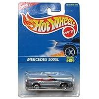 Hot Wheels 1995-494 Mercedes 500sl 1:64 Escala