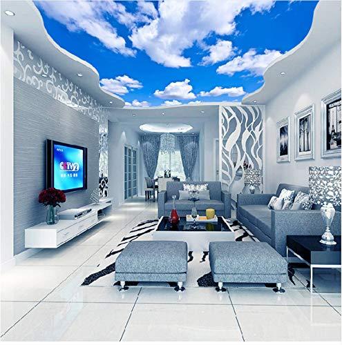 Zybnb  Deckenbild Blauer Himmel Und Und Und Weiße Wolken Wandbilder Für Das Wohnzimmer Schlafzimmer Decke Hintergrund Wandbild Tapete B07M6FNJSG Wandtattoos & Wandbilder 06a36f