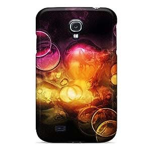 Durable Orange Bubbles Back Case/cover For Galaxy S4