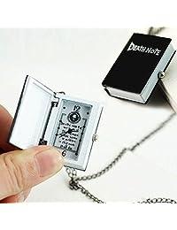 DaySeventh New Unique Death Note Bronze Pocket Watch Necklace Chain Gift