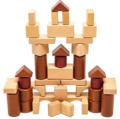 Executive Desk Blocks, 29 Natural Wood, 17 Cherry Wood Finish