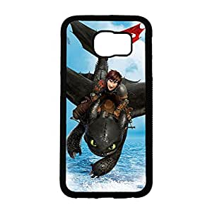 Samsung Galaxy S6 Personal Animaton How to Train Your Dragon Theme Phone Case How to Train Your Dragon Logo