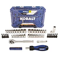 Deals on Kobalt 63-Piece Standard & Metric Polished Mechanics Tool Set