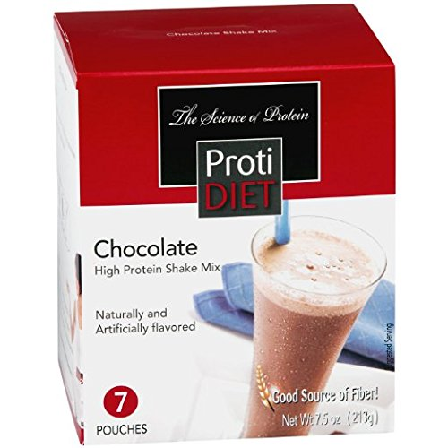 Proti Diet Shake (7 pouches per box) Net Wt 7.5oz (213g) (Chocolate) by Protidiet
