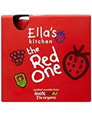 Ella'S Kitchen The Red One Squished Smoothie Fruits 5 X 90G - Pack of 2