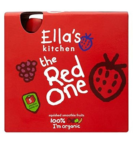 Ella'S Kitchen The Red One Squished Smoothie Fruits 5 X 90G - Pack of 2 Ella' s Kitchen