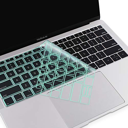 MOSISO Premium Ultra Thin TPU Keyboard Cover Compatible with MacBook Air 13 inch 2019 2018 Release A - http://coolthings.us