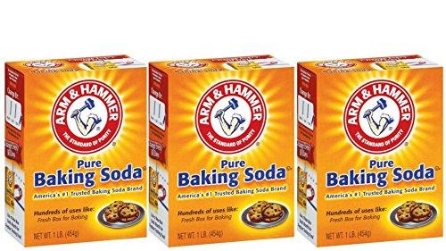 Arm & Hammer Baking Soda - Net Wt 1 lb - (Pack Of 3)