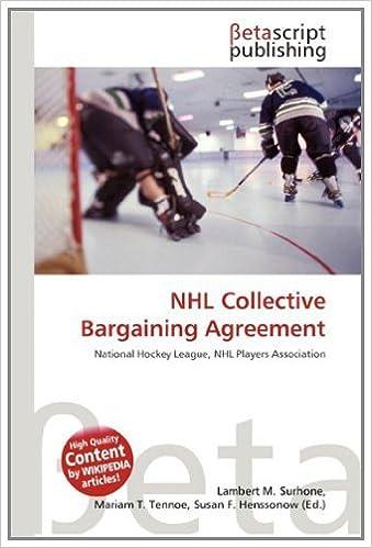 Nhl Collective Bargaining Agreement Amazon Lambert M Surhone