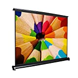 Freegoing Mini Portable Table Screen 50 Inch 16:9 Projector Screen for Business Outdoor Indoor Home Cinema