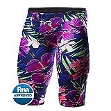 TYR Men's ALMH6A Avictor Lava High Jammer Swimsuit, Purple/Pink, 27