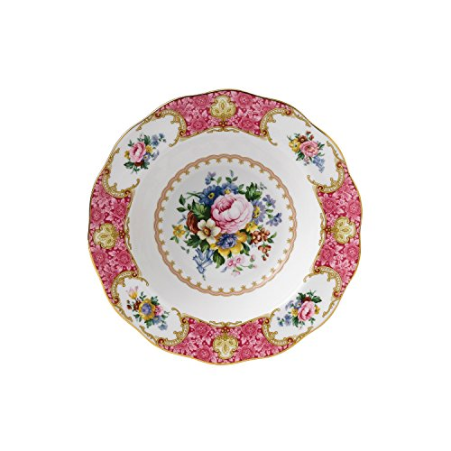 Royal Albert Lady Carlyle Rim Soup 9-1/2-inches (Flowers Soup Bowl Rim)