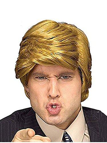 President Donald Trump Billionaire Synthetic Hair Men Wig]()