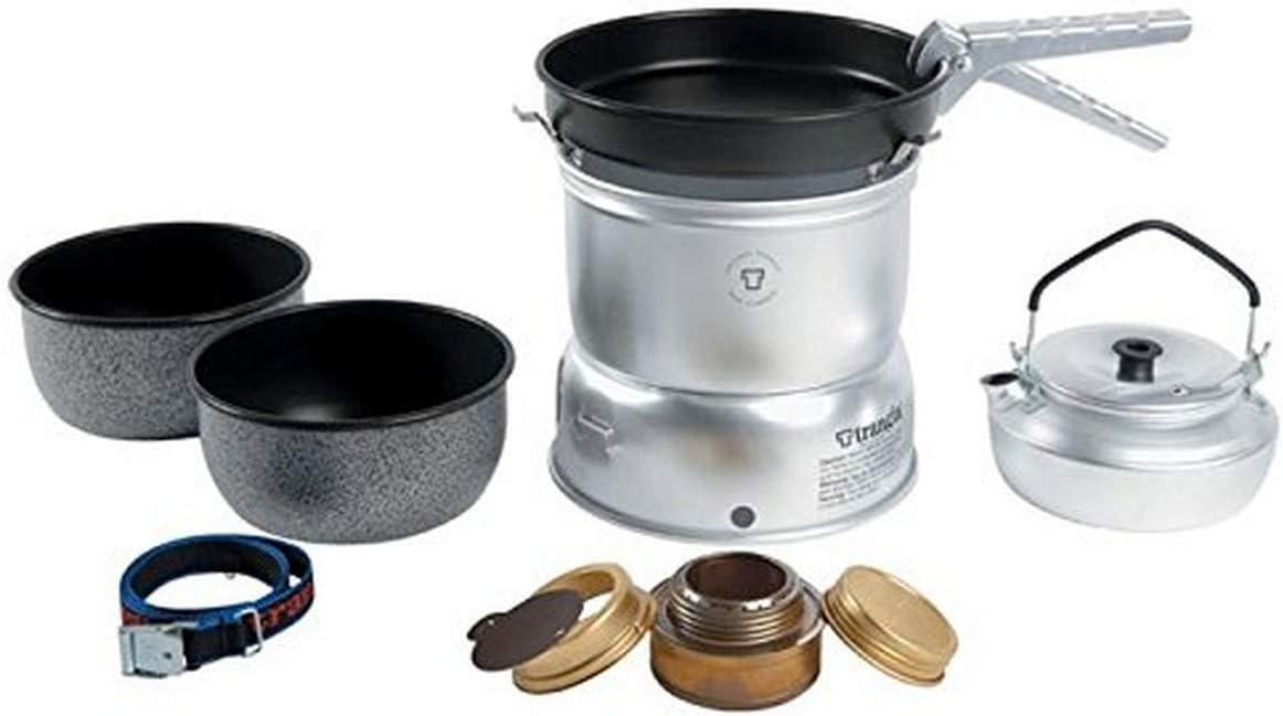 Trangia - Juego de Cocina para Camping (Superficie Antiadherente, 27 Piezas, Incluye hornillo)
