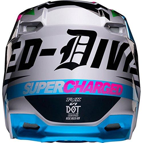 Fox Racing 2019 V1 Helmet - Czar (X-LARGE) (LIGHT GREY)