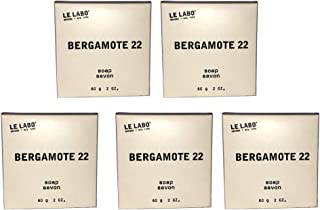 product image for Le Labo Bergamote 22 Bath Soap - lot of 5 - each 2oz bars. Total of 10oz