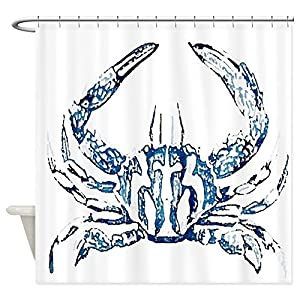 51ExuvoUqCL._SS300_ 200+ Beach Shower Curtains and Nautical Shower Curtains