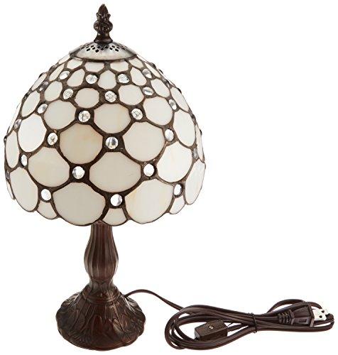 Amora Lighting AM116TL08 Tiffany Style Table Lamp 8