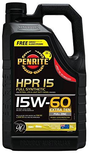 Penrite HPR15 Aceite de motor totalmente sintético 15 W-60: Amazon.es: Coche y moto