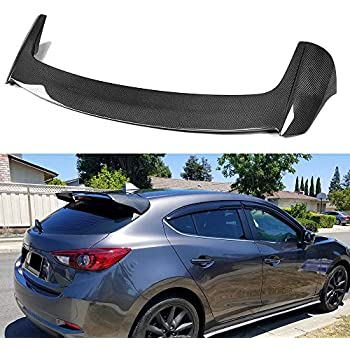 FidgetKute FIT for 2014-2017 Mazda 3 Hatch AXELA MUDFLAPS MUD Flaps Splash Guard Mudguard