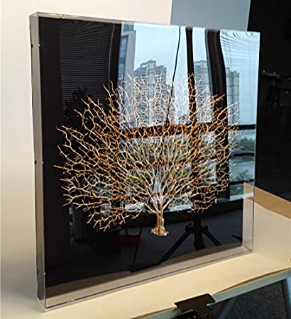 "d230ccb757 WAF 24""X24"" X2"" Modern Wall Decor Withered Branch  Contemporary Tree Sculpture 3D"