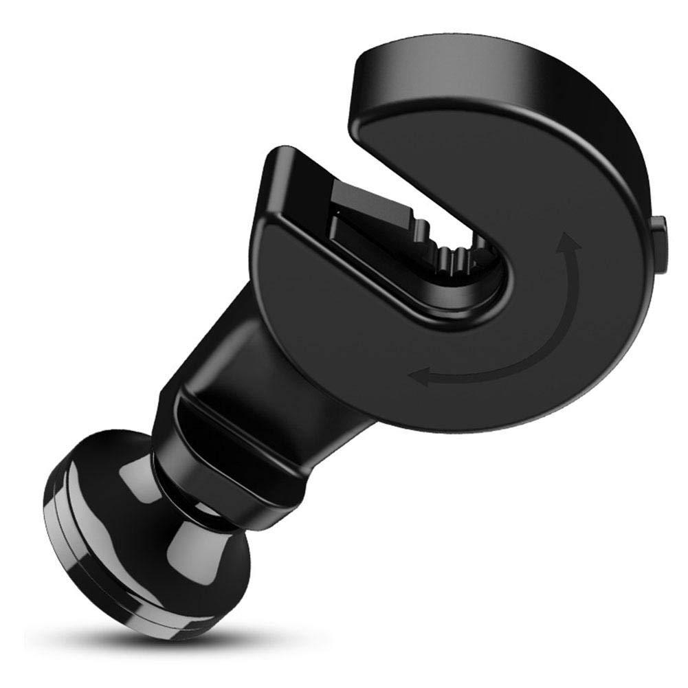 beautygoods Support de Crochet de Voiture 360 Support magnétique Support Voiture Support Magnétique Support Téléphone Voiture Appui-tête Crochet avec Support de téléphone Auto