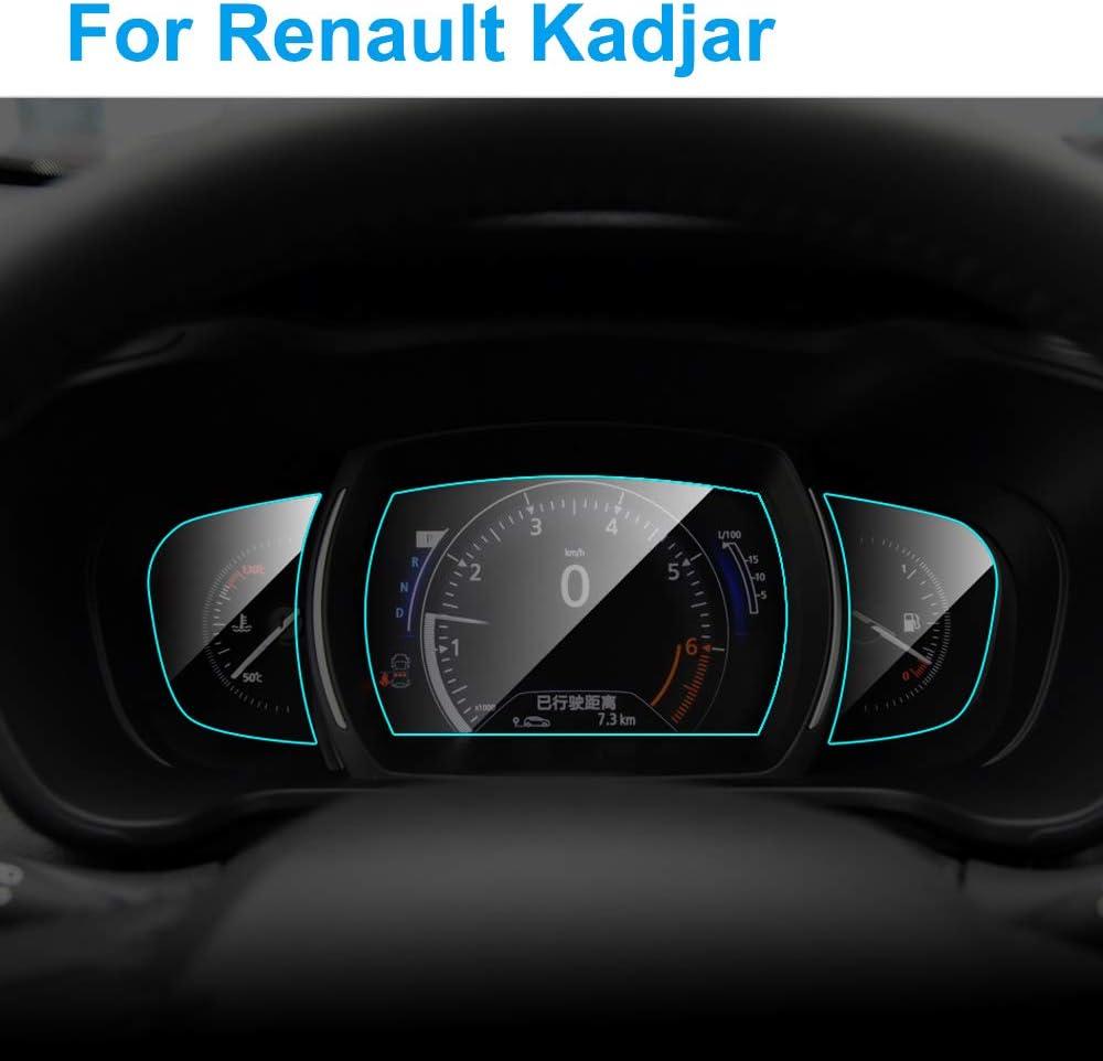 Hcdswsn Auto Instrumententafel Displayschutzfolie Für Renault Kadjar 2016 2019 Auto Armaturenbrett Membran Schutzfolie Tpu Auto Zubehör Sport Freizeit