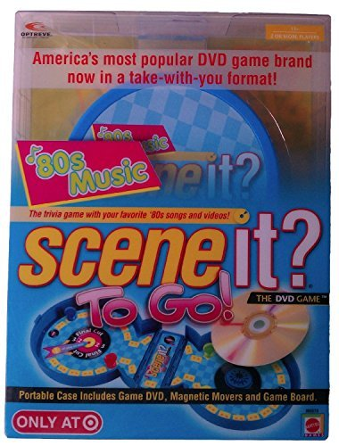 Scene It? To Go! 80's Music Version - Only at Target ()
