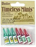 Darice 2306-15 Timeless Miniature Wine Bottles 6 Piece