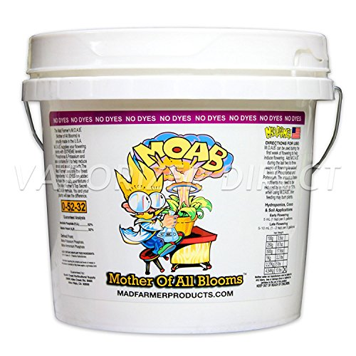 Mad Farmer Mother Of All Bloom MOAB 10lbs 10 Pounds Bloom Enhancer