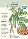 "Bush Bean ""Tiger's Eye"" Organic Heirloom Seeds, Appliances for Home"