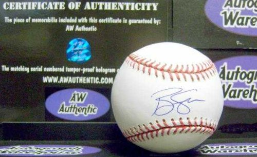 Ben Sheets autographed Baseball (2000 USA Gold Medal Game Winning Shutout Brewers) AW Authenticity Hologram ()