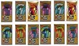 TANGLE Set of 12 Jr. Original Fidget Toys Colors As Shown