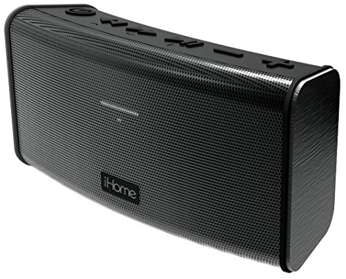 - iHome Rechargeable Splash Proof Stereo Bluetooth Speaker - Black (IBT33BC)