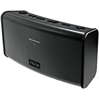 iHome Rechargeable Splash Proof Stereo Bluetooth Speaker - Black (IBT33BC)