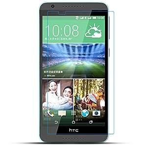 Moozy Blue Star Extreeme Shock Protector de pantalla de cristal templado 9H HTC Desire 820