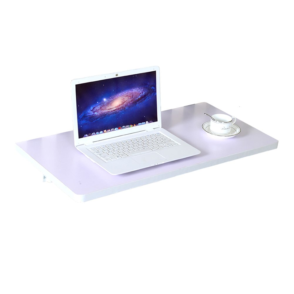 LXLA壁掛け式折りたたみ式デスク白いコンピュータのテーブル壁掛け勉強用ワークステーションキッチン詰めオーガナイザー折りたたみ式 (サイズ さいず : 80×40cm) B07DYN8FMR 80×40cm 80×40cm