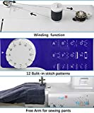 Luby Sewing Machine for Beginners with 12