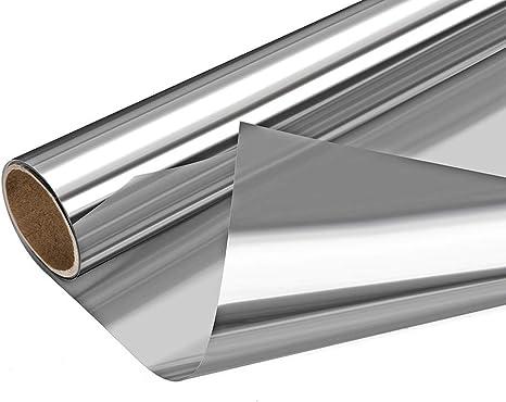 Window Tint One Way Mirror Heat Control Anti-UV Solar Screen Non-Adhesive Static