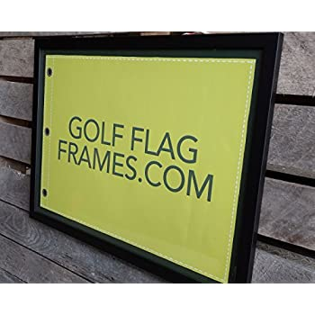 Amazon.com - Compact Black Golf Flag Frame, Moulding blk-007 ...