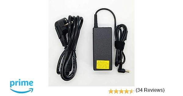 Adaptador Cargador Compatible con portátiles Packard Bell EasyNote (Modernos) con Punta 5.5mm*1.7mm 19v 3,42a o Inferior del listado Modelos