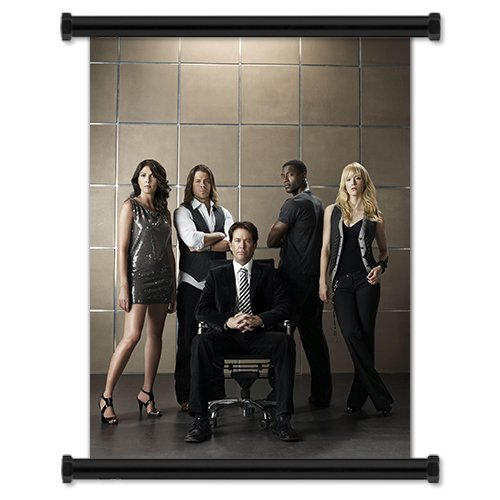 """Leverage Season 1 TV Show Fabric Wall Scroll Poster (16"""" X 21"""") Inches"""