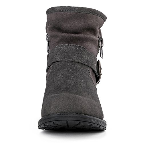 Ankle Win Fasion Winter 16grey Global GLOBALWIN Women's Boots dSCXBRwqRn
