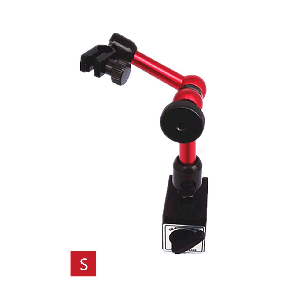 Magnetic Base On//Off Switch 132 Lbf Magnetic Pull For 3//8 and 6mm//8mm Stems Flexible Post Mitutoyo 7012-10