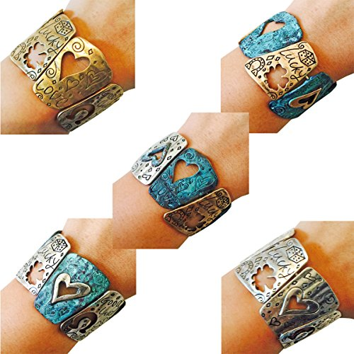 - Fitbit Bracelet for Fitbit Flex or Flex 2 Fitness Activity Trackers - The LUCKY DICE Engraved Stretch Wearable Tech Bracelet - 5 Colors! (Gold Patina, Fitbit Flex 2)