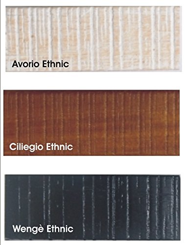 VM E 500 T Vetrina ad Angolo in Stile Etnico Art Ciliegio