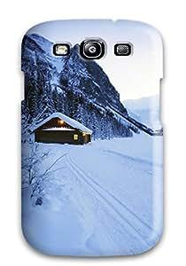 High Grade Melissa Aubert Flexible Tpu Case For Galaxy S3 - Earth Winter